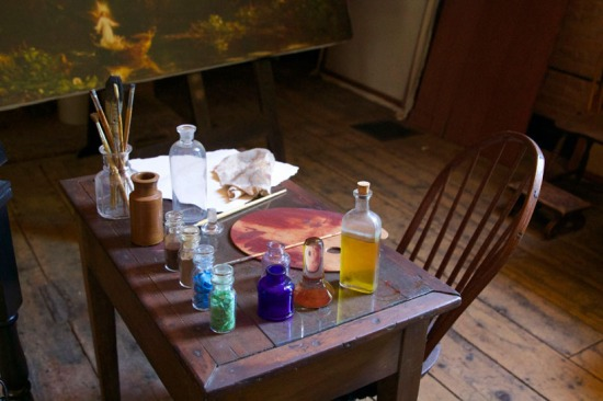 A Painter's Table